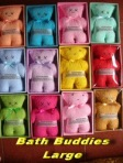 Bath Buddies Large min 12pcs @Rp.12.000,-