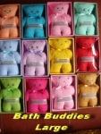 Bath Buddies Large min 12pcs @Rp.12.000,-