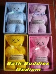 Bath Buddies Medium min 12 pcs @Rp.10.000,-