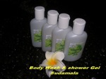 Body Wash dan Shower Gel Sudamala min 12 pcs @Rp.10.000,-