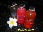 Bubble bath 250ml @Rp.15000,- min 12 pcs