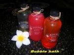 Bubble bath 250ml @Rp.15000,- min 12 pcs