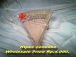 Kipas cendana paket pernikahan Rp.4000,-