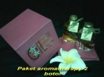 Paket minyak aromatherapy 2 botol Min 12 pcs Rp. 20.000,-