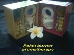 Paket burner aromatherapy min 12 pcs Rp. 15.000,-