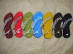 Pilihan warna sandal elastis