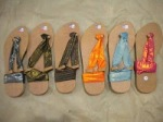 Pilihan warna sandal kungfu