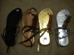Pilihan warna sandal zena