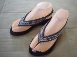 Sandal indian hitam