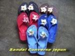 Sandal jepun converse