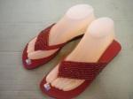 sandal sebel merah