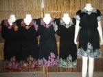 Dress lace airbrush