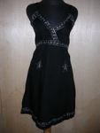 Dress v-neck perak 002